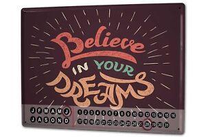 Calendario-perpetuo-Diversion-Believe-Dreams-Metal-Imantado