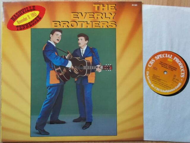 THE EVERLY BROTHERS EP: NASHVILLE TENNESSEE NOV. 9,1955 (NEU; BEAR BFE 15075)