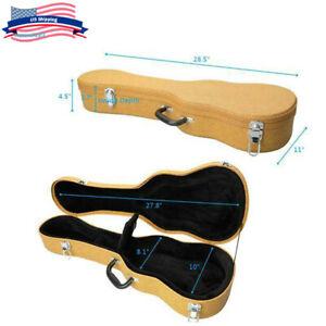 Portable 26 Top Concert Leather Tenor Ukulele Case Bag Box Accessories Storage Ebay