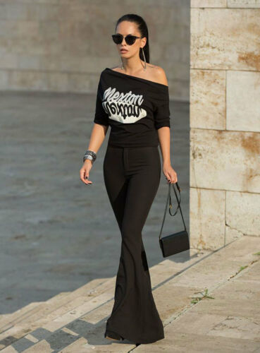 Strass Damentop Pullover Xs Damenshirt Shirt Schwarz m weiß Alina Bluse By qwY4wC