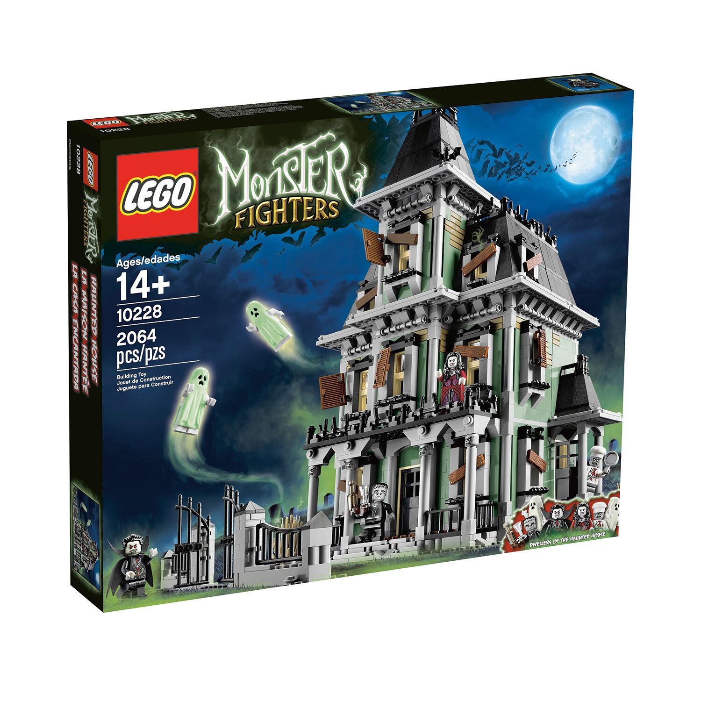 Lego Montruo Luchadores - Muy Raro Casa Embrujada 10228-