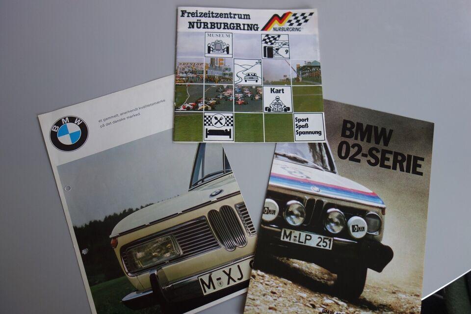 Andre samleobjekter, BMW BROCHURER