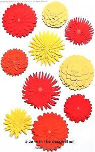 Dimensionnel-Dahlia-Martha-Stewart-3-D-Autocollants-Fleurs-Floral-Dahlias