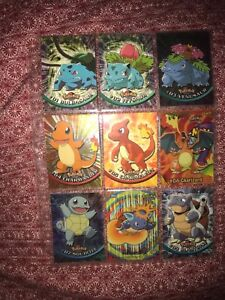 Pokemon-TOPPS-Card-Lot-Tv-Animated-Series