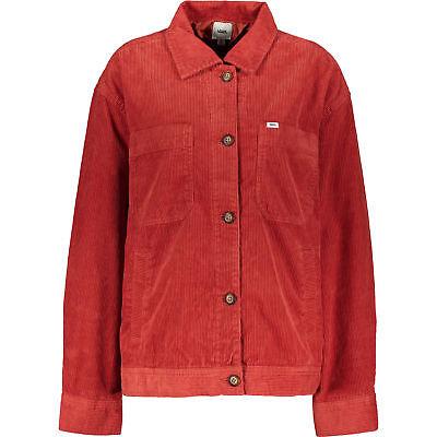 Femme VANS rouge brique en velours côtelé sommet veste, tailles S M L, Prix De Vente Conseillé 85 £ | eBay