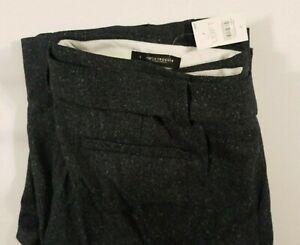 Ann-Taylor-Loft-Marisa-Trouser-Pants-Slate-Grey-Straight-Thru-The-Hip-Size-8-NWT