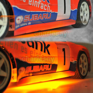Details about ORANGE LED RC 1/10 CAR TRUCK LIGHTING Chassis Body kit NEW  Stylish Look