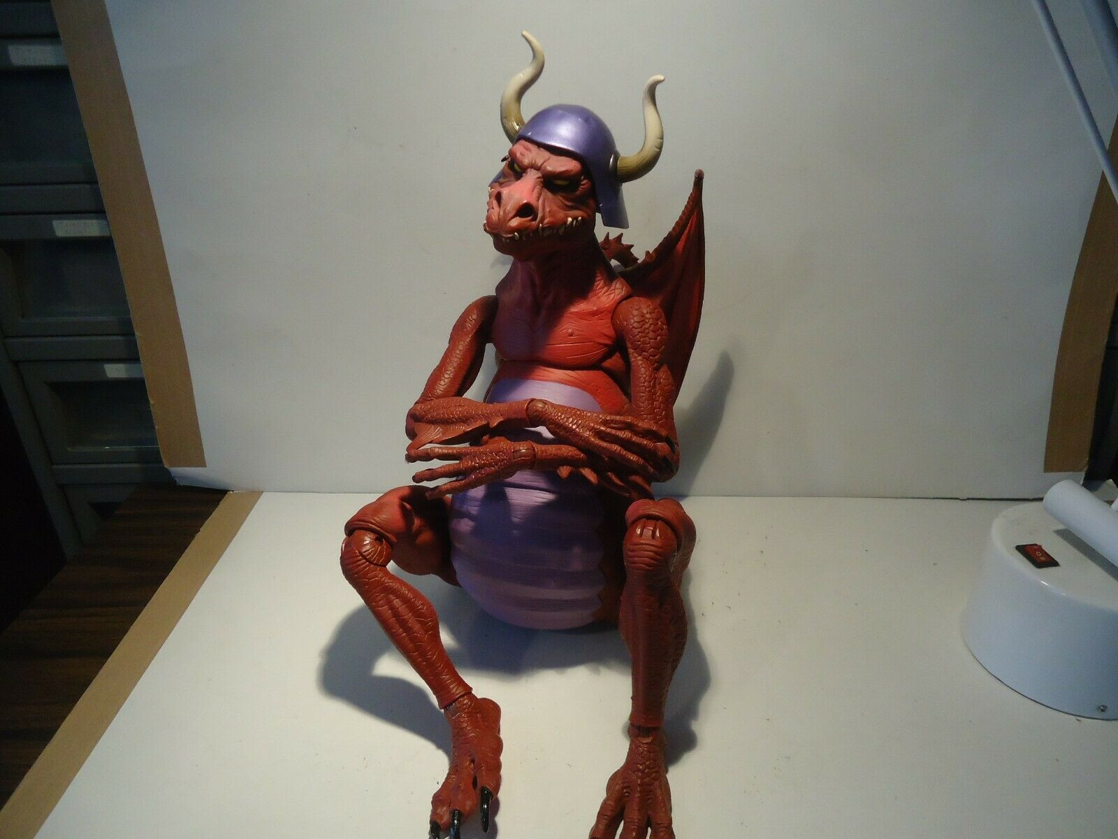 Masters of the universe classic  Granamyr large rot dragon He-Man action figure
