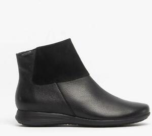Mephisto-NONIE-Ladies-Winter-High-Quality-Casual-Cosy-Leather-Ankle-Boots-Black