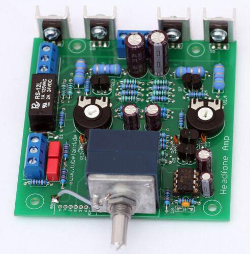 mit AlPS Blue Poti 600 Ohm Bausatz Tubeland High End Headfone Amp 1000mW 16