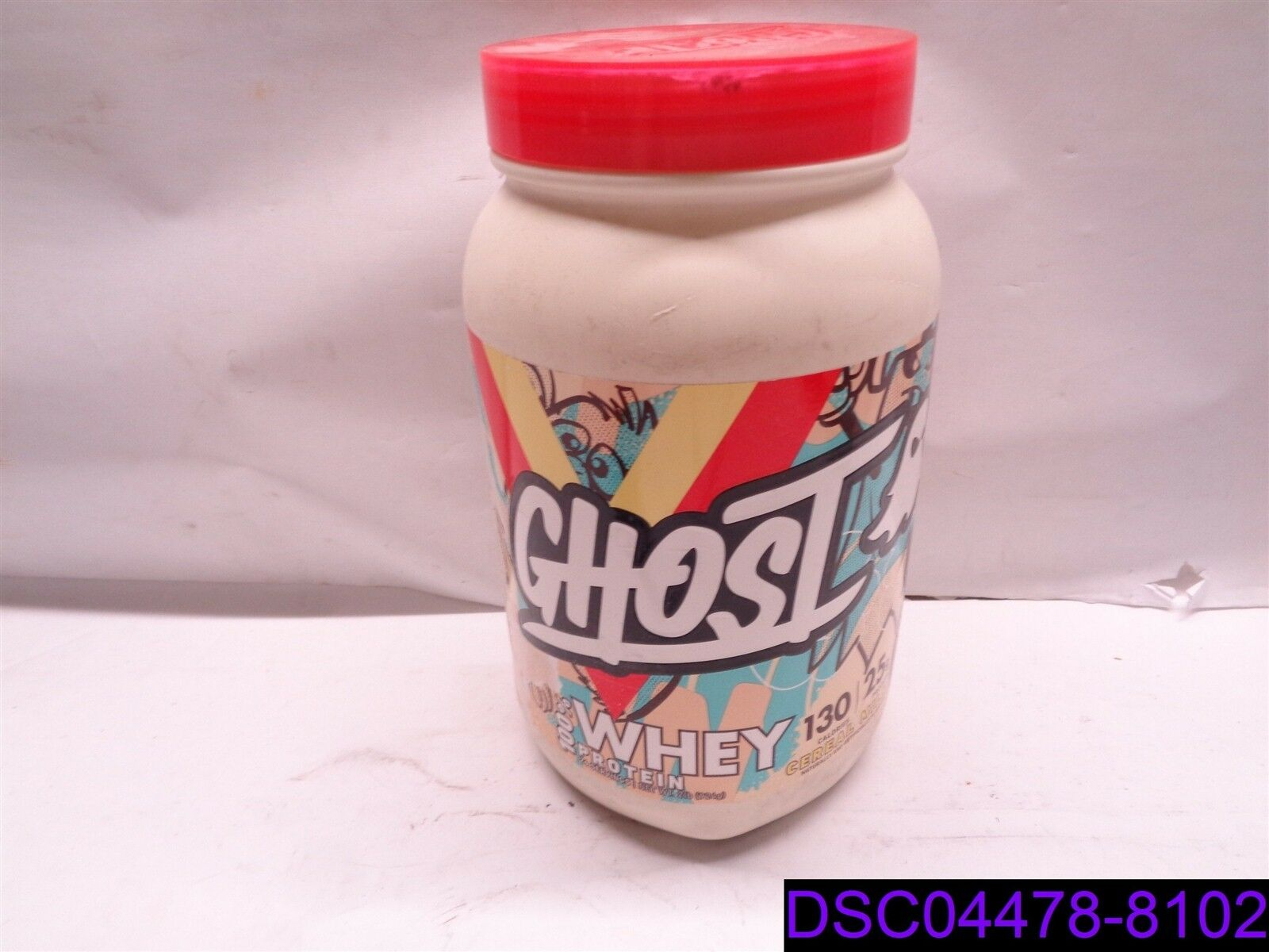 Dented Can: Ghost Whey Protein Cereal Milk 2 lb lb 2 Can d272fe