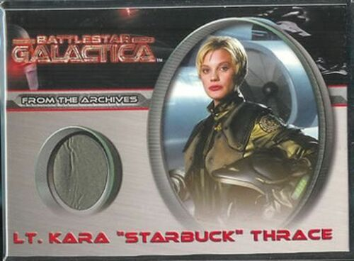 "Battlestar Galactica Premiere Costume CC4 Lt Kara /""Starbuck/"" Thrace"