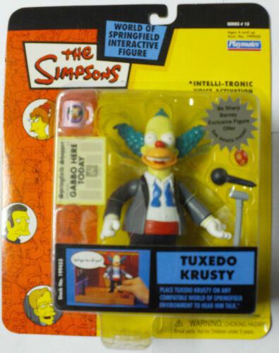 TUXEDO KRUSTY figure simpsons wos NEW nisb series 13