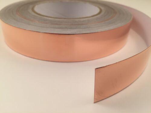 "1/"" x 55 yards Copper Foil Tape Conductive-165/' 50M EMI Shielding"