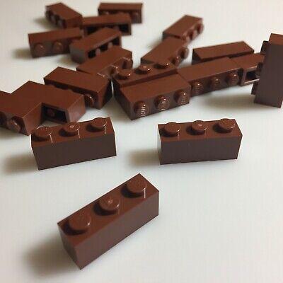 Reddish Brown Panel 30413 NEUWARE Panel Bank 1x4x1 braun LEGO 20 x Halb