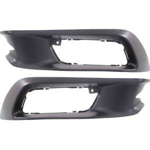 For 2012 Honda Civic Fog Light Bezel Left Driver Side 91252KX
