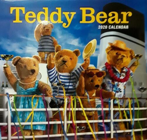 2020 Calendar TEDDY BEAR