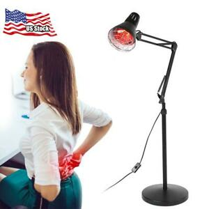 Infrared-Floor-Stand-Lamp-Therapy-Therapeutic-Muscle-Pain-Relief-Heat-Light