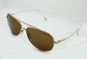 12103a834660 Image is loading Dita-Inc-Flight-004-Sunglasses-12k-Gold-Aviator-