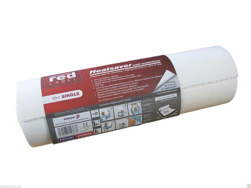 Erfurt red label isolation thermique Saver épais mur doublure papier 10mx50cm 2 mm