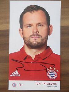 Handsignierte-AK-Autogrammkarte-TONI-TAPALOVIC-Bayern-Muenchen-16-17-2016-2017