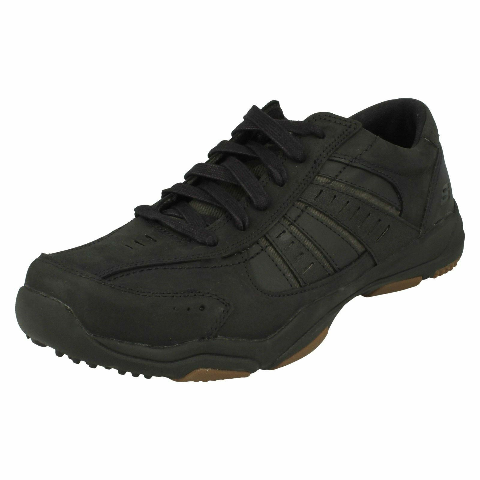 Mens Skechers Casual Lace up Trainers-Nerick