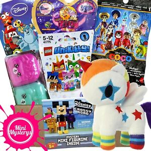 GIRLS TOYS GIFT BUNDLE inc Tokidoki, Shopkins, Unikitty, Disney Pixar Blind Bags