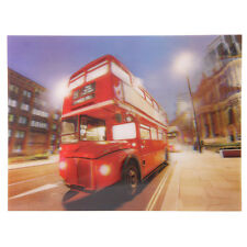 Nachtbus London 3D Bild