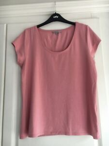 102fe19992b3fa M&S Marks and Spencers Women's Limited Edition Pink Top Shirt Size ...