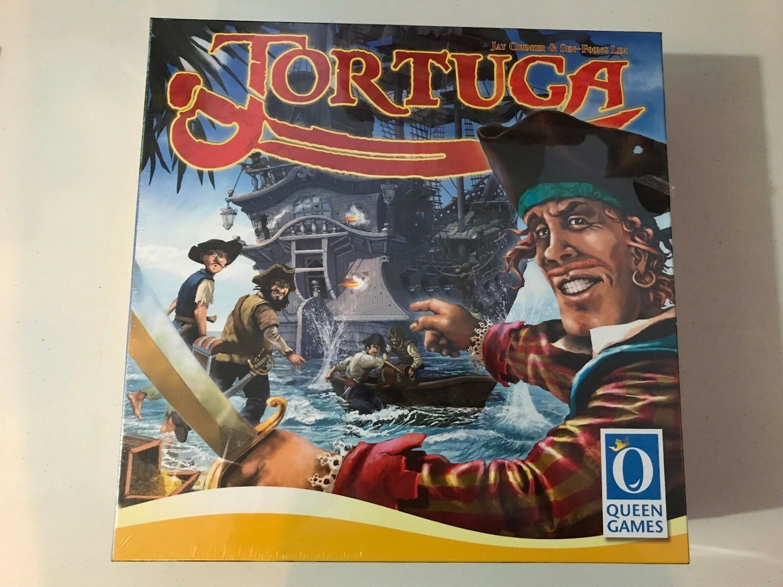 Tortuga Board Game Queen Games 2014 Brand New Factory Sealed