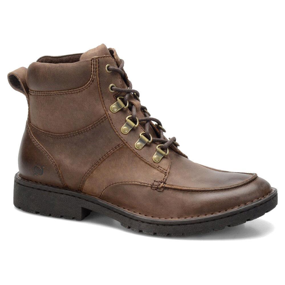 Born para hombre Reeves con cordones Casual para senderismo y Tobillo botas Zapatos para caminar confort