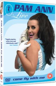 Pam-Ann-Live-Come-Fly-With-Me-DVD-2007-Caroline-Reid-cert-18-NEW