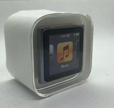 Apple Ipod Nano 6th 6 Generation Graphite 16gb Grey New Sealed 885909424184 Ebay