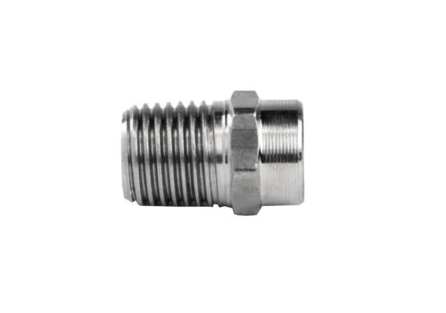 """Pressure Washer Jet Wash Nozzles 1//4/""""M Stainless Steel Angles 0° 15° 25° /& 40°"""