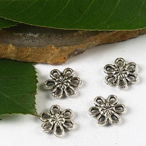 40pcs Tibetan Silver sunflower charms H2480
