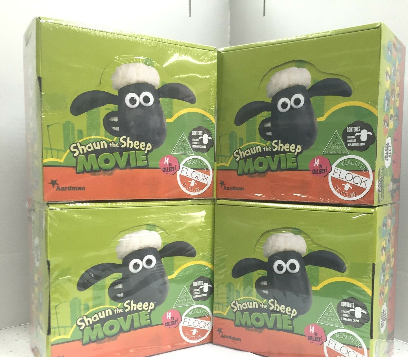 Shaun the Sheep The Movie Characters' Figures in Blind Blind Blind Bags Case(456) Under cost e22e1c