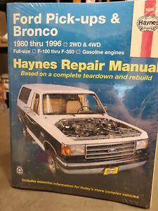 1980-1996 Ford F-100 thru F-350 Bronco Repair Manual