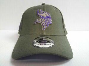 Minnesota-Vikings-Cap-Era-39Thirty-Stretch-Fit-NFL-2018-Salute-to-Service-Hat
