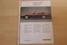 74411) Karmann Jaguar XK 8 Cabrio Prospekt 09/1999