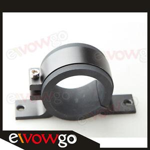 52mm-ID-Fuel-Pump-Bracket-Anodised-Single-Billet-Filter-Clamp-Cradle-Black