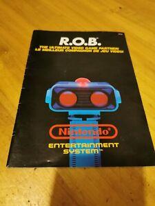 Notice Nintendo Nes Rob Asd