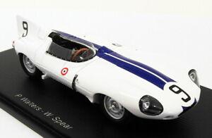 Coche-Modelo-de-Resina-Spark-Escala-1-43-S2132-Jaguar-D-9-Le-Mans-1955