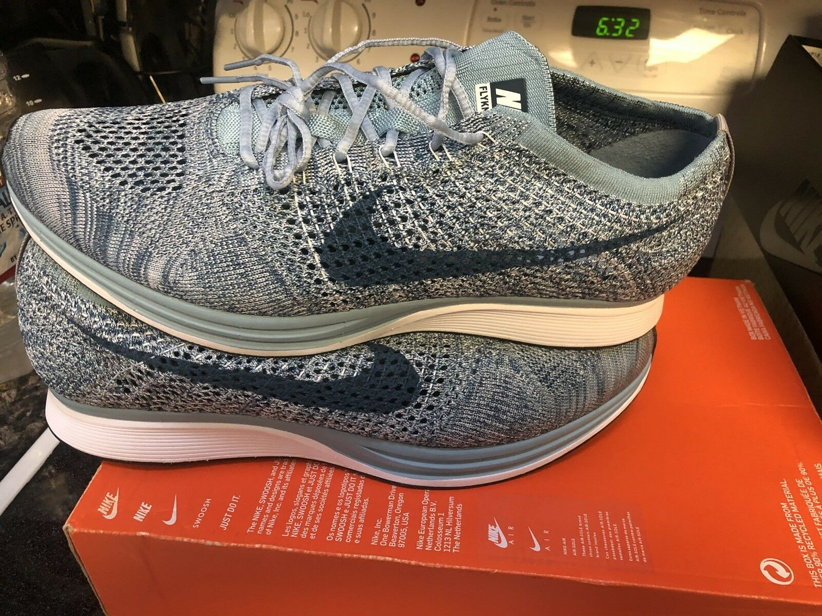 The most popular shoes for men and women Nike Flyknit Racer Macaron Pack Price reduction