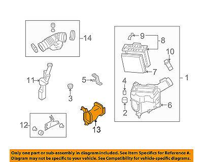 Infiniti NISSAN OEM Air Intake-Air Inlet Duct Right 16554JK23C