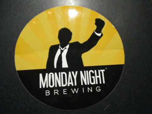 MONDAY NIGHT BREWING Atlanta GA drafty kilt cr STICKER decal craft beer brewery