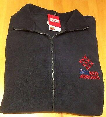 Licensed product Blue Royal Air Force Red Arrow Zip Hoodie