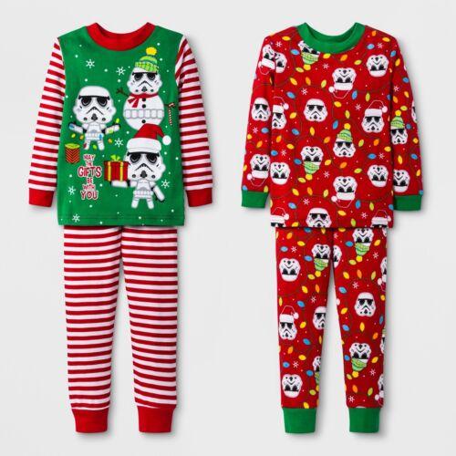 Toddler Boys 4 Pc~2 Pair~Star Wars Gifts Be W// You Holiday Christmas Pajamas Set