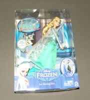 Disney Frozen Ice Skating Elsa Doll 12 Movie Figure