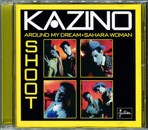 KAZINO-AROUND-MY-DREAM-SAHARA-WOMAN-SHOOT-2018-REISSUE-CD-ALBUM-NEUF-NEW