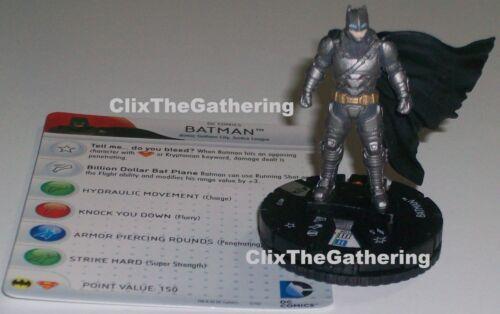 BATMAN 012 Batman VS Superman Dawn of Justice DC HeroClix